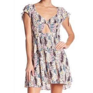 Free People Miss Right Minidress patterned XS